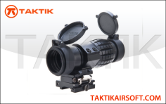 Taktikal 3X Quick Release Magnifier V2 Metal Black