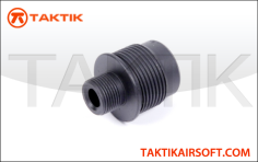 Taktikal ASR Sniper Silencer Adapter V2 metal black