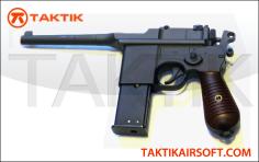 HFC Mauser C96 Gas Pistol Metal Grey