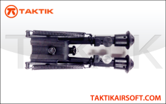 Taktikal Harris Style 4 inches M4 Bipod Metal Black