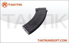 CYMA AK47 140 Round Mid Cap Mag Metal Black