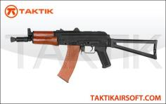 CYMA AKS-74U Metal Wood Black