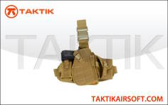 Lancer Tactical Molle Platform Holster Tan