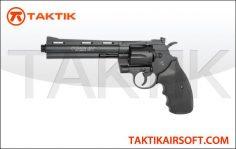 Cyberbergun Colt Python 6 inch revolver Metal black