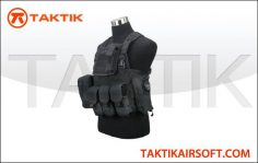Defcon Commando Chest Rig Black
