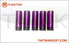 PPS 6 round Shell Boxset of 5 Metal Purple