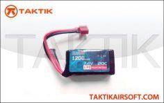 1200mAh Lipo 7.4V 20C peq micro