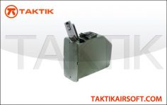 A&K M249 Series 2500 rd Mag Black
