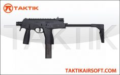 KWA KMP9 MP9 NS2 Gas Sub Machine Gun Black