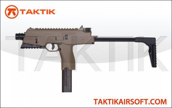 KWA KMP9R MP9 NS2 Gas Sub Machine Gun Tan