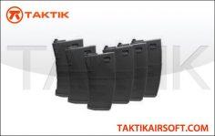 KWA M4 K120 120 rounds magazine Mag Boxset Polymer Black