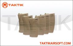 KWA M4 K120 120 rounds magazine Mag Boxset Polymer Tan