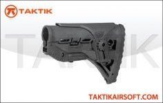 Lancer tactical M4 adjusable DMR Stock Black