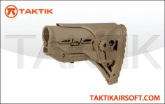 Lancer tactical M4 adjusable DMR Stock Tan
