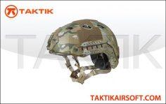 Lancer Tactical FAST Helmet PJ Type Medium Camo