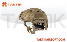 Lancer Tactical FAST Helmet PJ Type Medium Desert Digital
