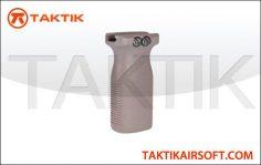 Taktikal Stubby vertical grip plastic tan