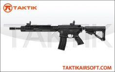 ICS M4 Tubular RAS Assault Rifle Metal Black