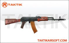 LCT AK 74 Wood Steel Black