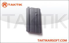 WE Tech M16 20 round GBB Mag metal Black