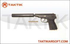 WE Tech Makarov PMM Metal black