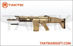 WE Tech SCAR-H GBB Metal Tan