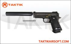 WE Tech Baby Hi-Capa 3.8 Type B Metal Black