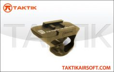 pts-fortis-shift-short-angle-grip-rail-mount-tan