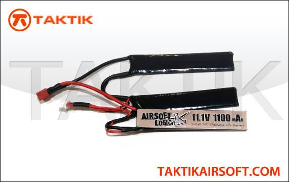 Airsoft Logic 11.1V 1100mAh Nunchuck Lipo