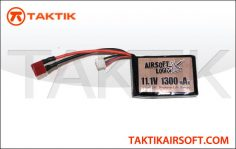 Airsoft Logic 11.1V 1300mAh Square Lipo