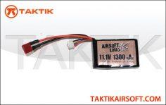Airsoft Logic 11.1V 1300mAh Square Lipo
