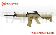 KWA KM4A1 M4 Carbine AEG Metal Tan