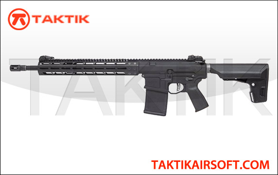 KWA PTS Mega Arms MKM 308 AR-10 308 GBBR Metal Black