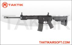 King Arms Black Rain Ordnance M4 CQB Metal Black