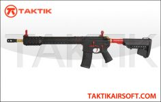 King Arms Black Rain Ordnance M4 Rifle Metal Red Edition