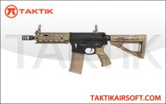 King Arms CAA M4 CQB Metal Tan