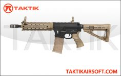 King Arms CAA M4 Carbine Metal Tan