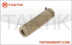 PTS Griffin Armament M4SD­K Mock Suppressor Metal Tan