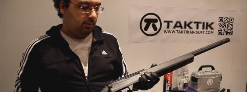 Taktik airsoft sniper