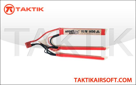 Airsoft Logic 11.1V 1450mAh Nunchuck Lipo