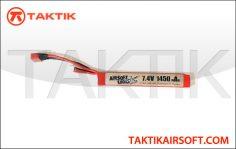 Airsoft Logic 7.4V 1450mAh 30C Stick Lipo