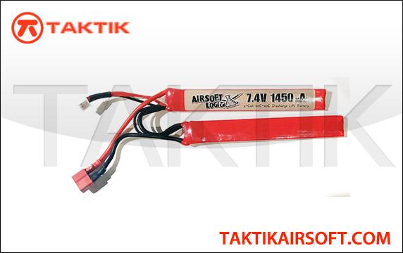 Airsoft Logic 7.4V 1450mAh Nunchuck Lipo