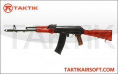 GHK GK AK-74 GBBR Metal Wood Black