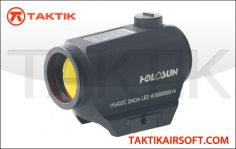 Holosun HS403C Solar Powered Red Dot Sight Metal Black