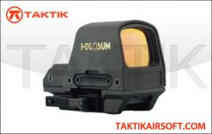 Holosun HS510C Solar Powered Red Circle Dot Sight Metal Black
