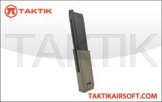 KWA SMG45 49 round GBB Mag metal tan