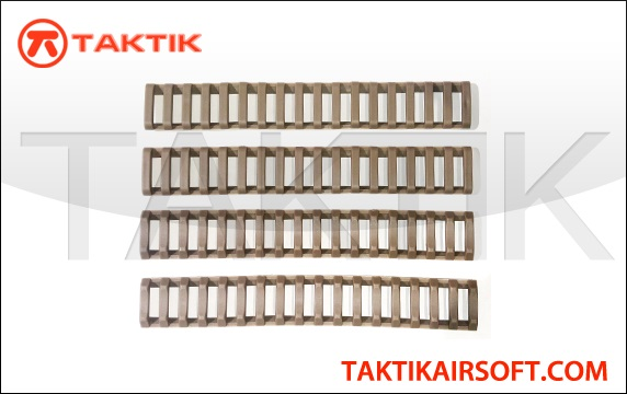 Ladder Style Rail Cover Set Rubber Tan