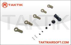 PTS BAD-ASS GBBR LM4 Ambi Selector Metal Tan