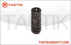 PTS Battlecomp 1.5 Flash Hider (CCW) Metal Black