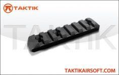 PTS Enhanced Rail Section 7 Slots Polymer black